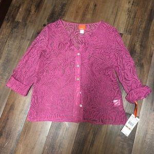 ⬇️sale⬇️Cute pink top